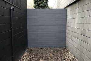 Composite Fence at Commercial Studio