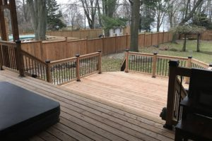 Tiered Patio & Fence