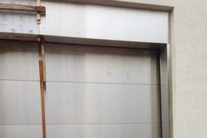 Nailless Stainless Steel Garage Door & Trim
